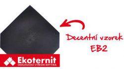 EKOTERNIT - EB2 390*390mm černá