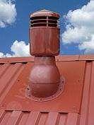 Větrací komínek NORMAL s izolací (pro trapéz a falc)