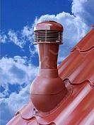 Větrací komínek PERFEKTA ventilátor (Basic, Atractiv, Moon) OMAK ROOF