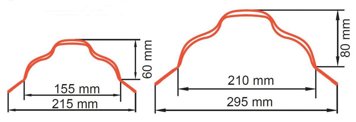 Omega hřebenáč 215/295 (maloformátové krytiny) SATJAM