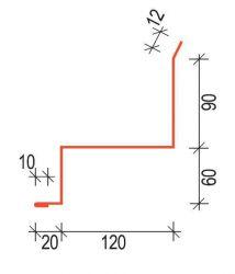 Oplechování ke zdi OZR120 pro Rapid SATJAM