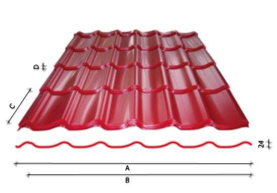 Střešní krytina SATJAM Roof Classic a Nordic polyestersat 25