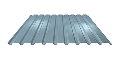 Stěnový trapézový plech LVP20 tloušťky 0,50 mm LINDAB