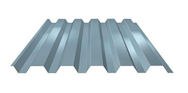 Stěnový trapézový plech LVP45 tl. 0,60 mm LINDAB