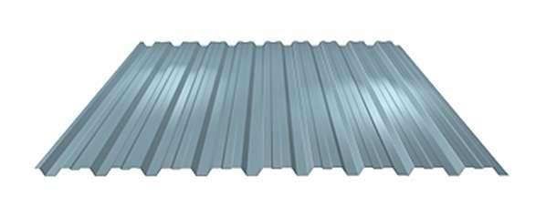 LINDAB - Stěnový trapézový plech s prolisem LVP20 Dn tloušťky 0,50 mm