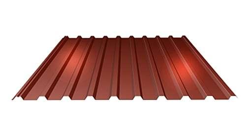 LINDAB - Střešní trapézový plech LTP20 tloušťky 0,50 mm