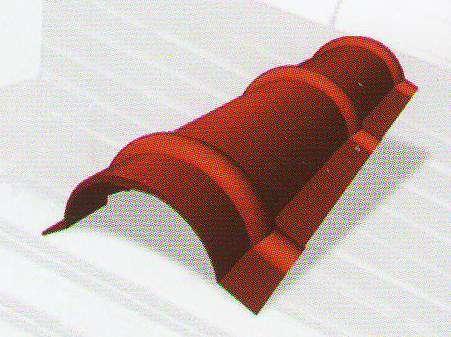 Hřebenáč oblý 1980mm (krycí délka 1900mm) UNIPLECH