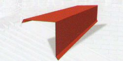 UNI - Závětrná lišta horní 2000mm (krycí délka 1900mm)