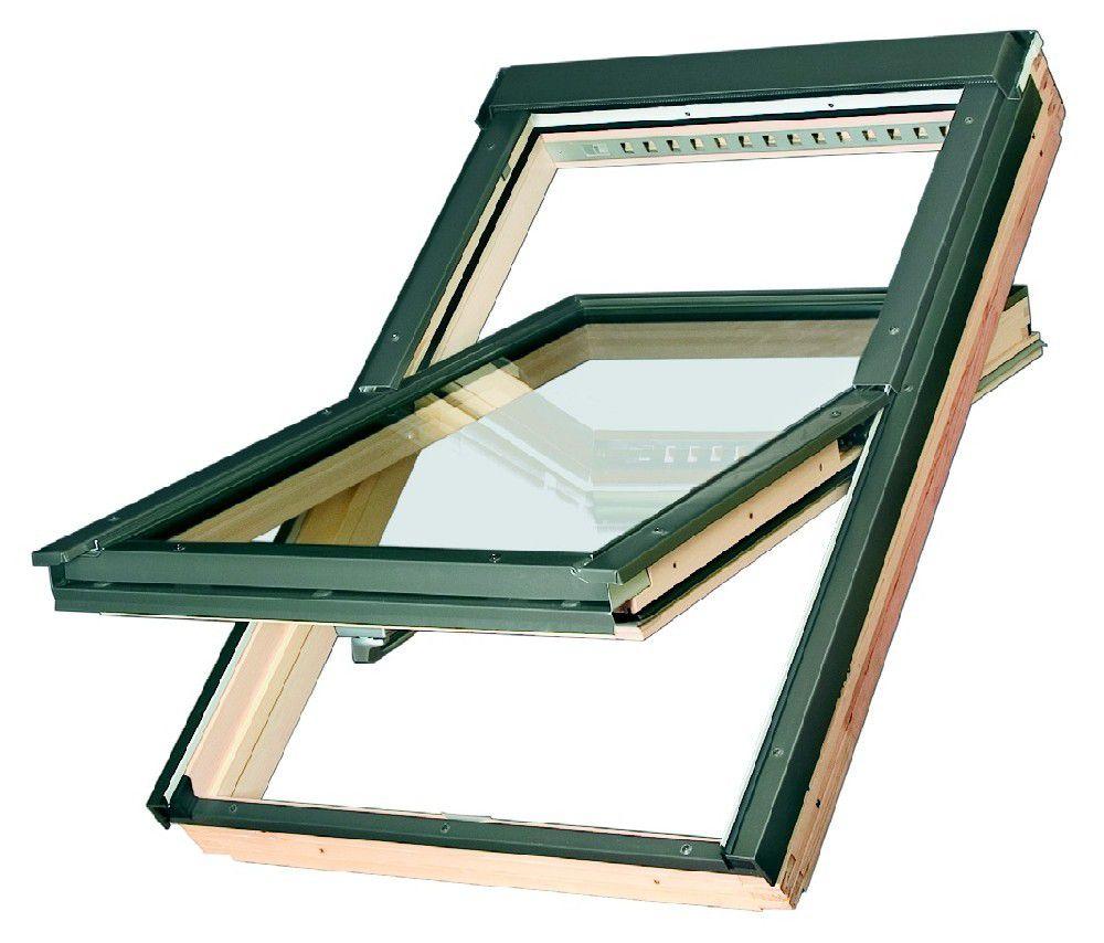 Dřevěné kyvné okno FTP-V U4 FAKRO