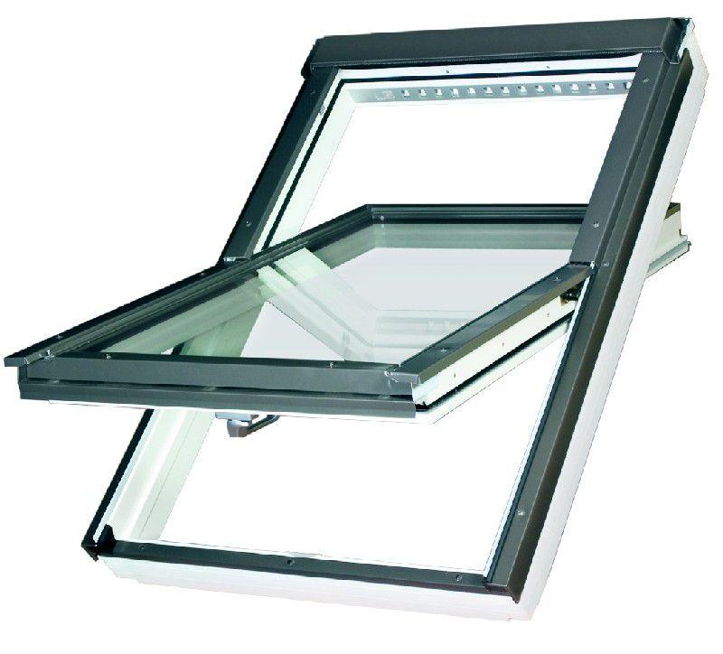 Dřevěné kyvné okno FTU-V U4 FAKRO