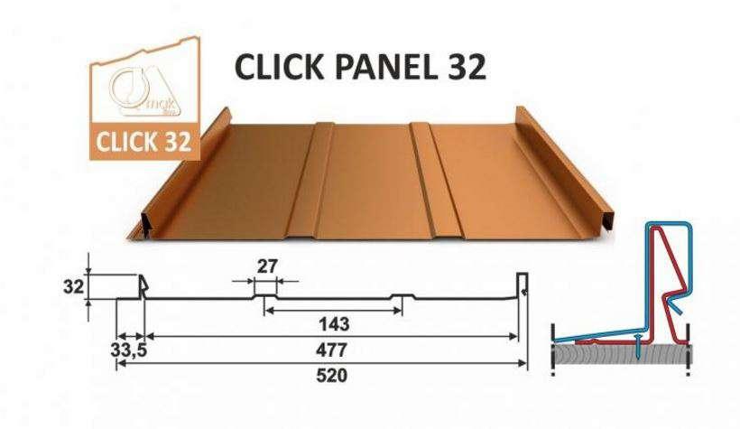 Click Panel 32/520 OMAK LINE
