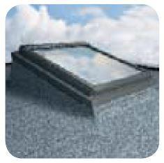 Těsnící lemování EFW systém montáže oken do plochých střech FAKRO