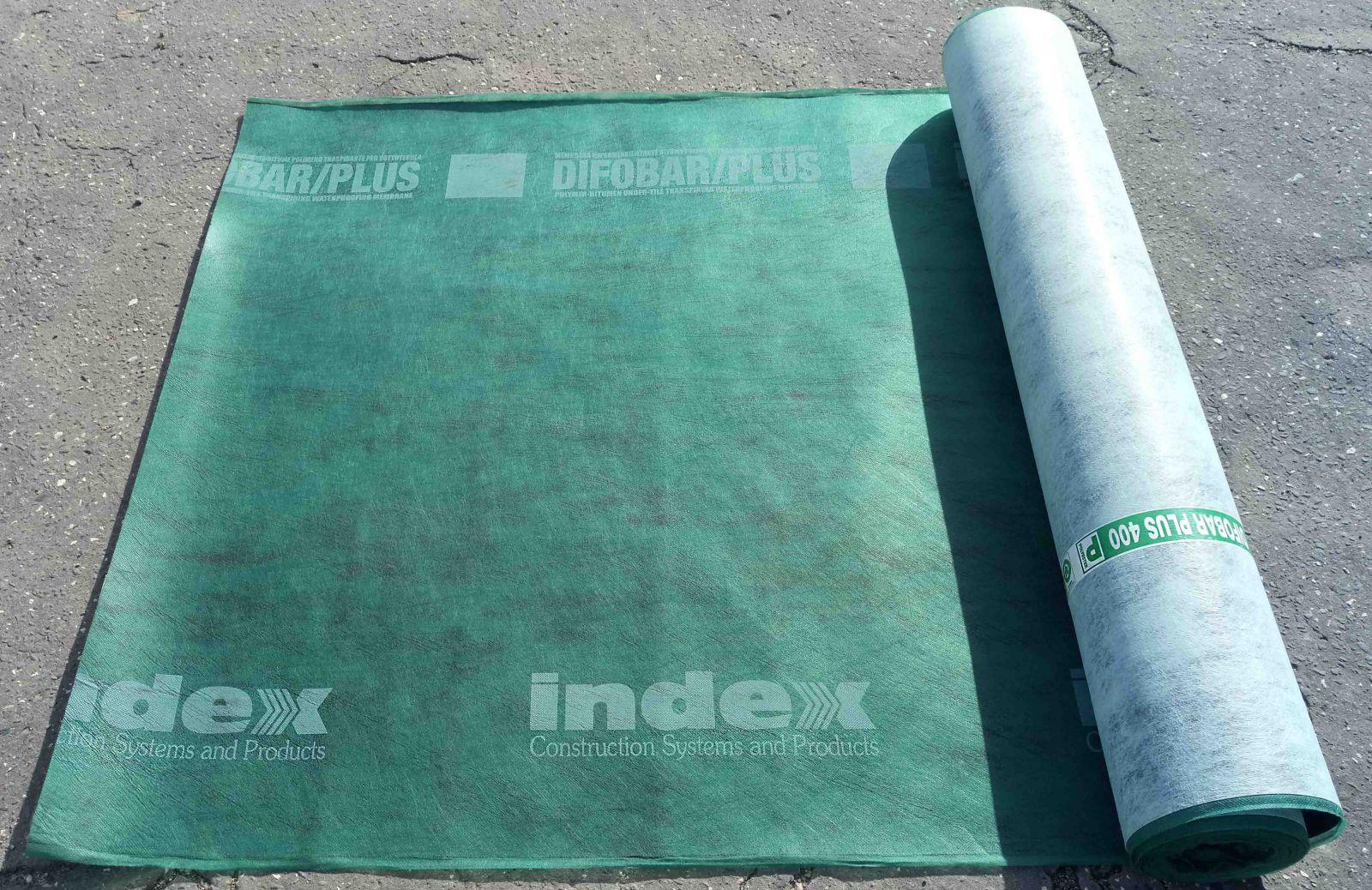 DIFOBAR 400 podkladní pás INDEX