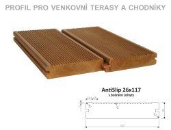 AntiSlip 26x117 mm, boč. úchyty