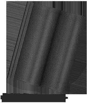 BETONOVÁ TAŠKA BRAMAC MAX (SLEVA DLE KONKRÉTNÍ POPTÁVKY) - ebenově černá - základní 1/1