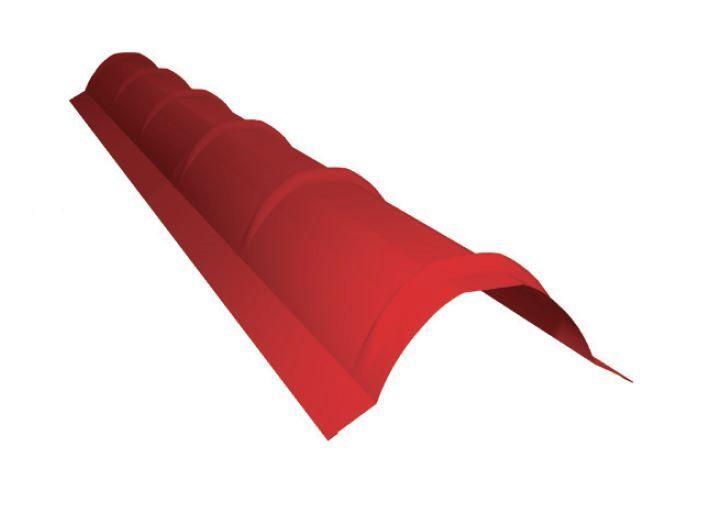 Plechový hřebenáč RUUKKI - hřebenáč oblý 2100mm