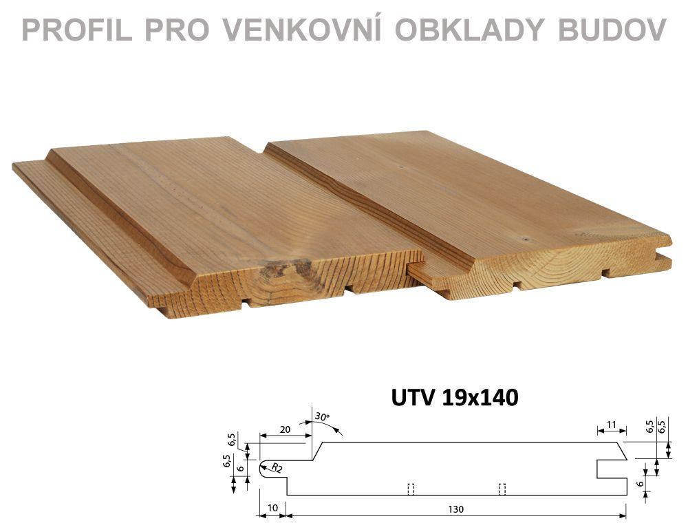 UTV 19x140 mm PROKOM