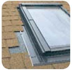 ESV Těsnící lemování pro okna se zvýšenou osou otáčení pro ploché krytiny