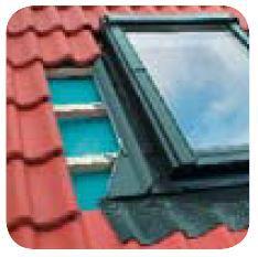 Těsnící lemování pro okna se zvýšenou osou otáčení pro vysoce profilované krytiny EHN-A FAKRO