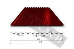 TRAPÉZOVÝ PLECH T14 ARCELOR MAT PE 35 (střešní a fasádní profil)
