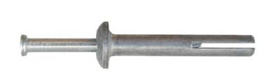 Kovová natloukací hmoždinka Ø 6 mm KLIMAS