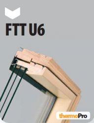 Kyvná okna super energeticky úsporná FTT U6 FAKRO