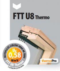Kyvná okna super energeticky úsporná FTT U8 Thermo FAKRO