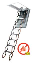 LSF Protipožární stahovací schody