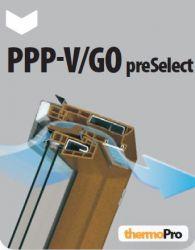 Výklopně-kyvné plastové okno PPP-V/GO U3 preSelect FAKRO