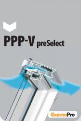 Výklopně-kyvné plastové okno PPP-V U3 preSelect FAKRO
