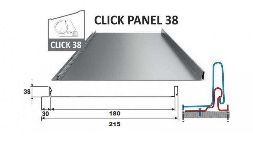 Click Panel 38/215 OMAK LINE