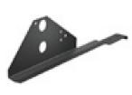 LINDAB - Konzola dvoutrubkového zachytávače a lávky pro skládanou krytinu KTTR2