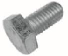 LINDAB - Metrický šroub a matka pro spojení prvků SAFETY KTM8-N, KTNUT-N