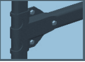 Objímka žebříkové konzoly