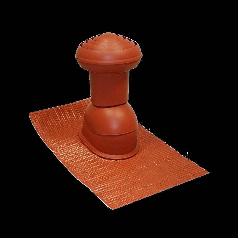 Odvětrávací komínek VITRIUM (sanitární) 125mm UNI MDM