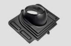 Spodní díl univerzálního komínku ventilačního/sanitárního pro taškové krytiny s výjimkou Hyygge RUUKKI
