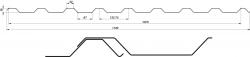 Trapézový plech T-20 Plus (SLEVU NA ZBOŽÍ ZÍSKÁTE POPTÁVKOU) BLACHOTRAPEZ