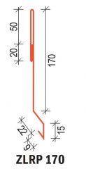 ZLRP170 170 Závětrná lišta plochá pro SATJAM Rapid