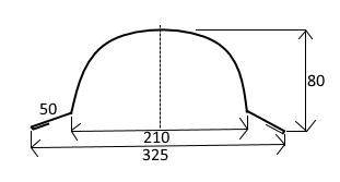FLORIAN - HŘEBENÁČ OBLÝ - pro taškové tabule