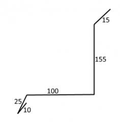 FL - LEMOVÁNÍ BOČNÍ HORNÍ - ke zdi (2000mm)