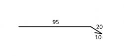 FLORIAN - PODFÓLIOVÝ OKAPNÍ PLECH - pro trapézové, taškové plechové krytiny