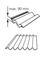 KEYLITE - lemování DTRF pro krytiny do 90mm