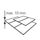 KEYLITE - lemování SRF pro ploché krytiny do 10mm
