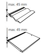 KEYLITE - lemování TRF pro krytiny do 45mm