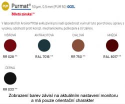 Maloformátová střešní krytina SATJAM Arad Modul
