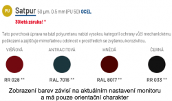 Taškový panel SATJAM Bond Metalic