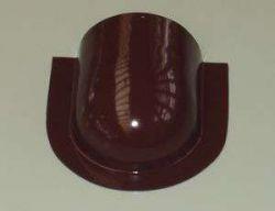 Čelo hřebenáče půlkulaté v barvě RAL