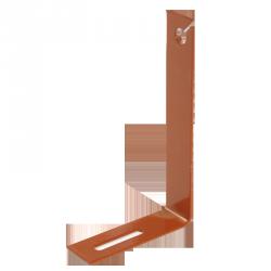 Držák hromosvodového drátu typu L