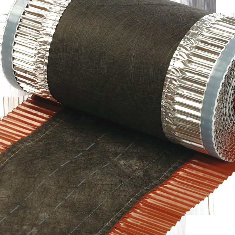 Hřebenový pás hliníkový pro větrání a ochranu hřebenů a rohů střechy MDM