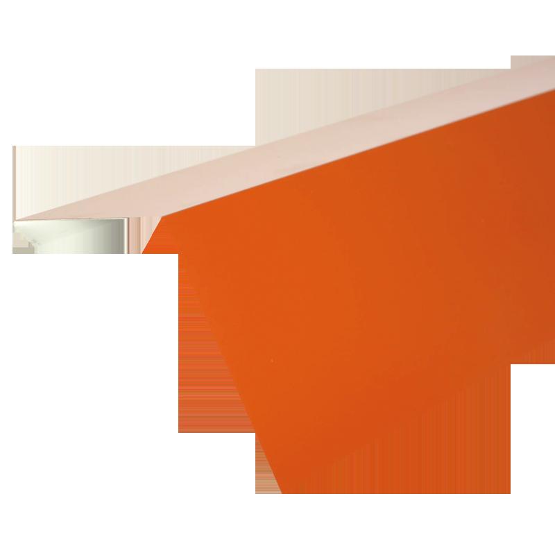 Okapový pás ve formě lišty